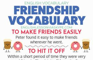 English Expressions about Friendship