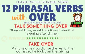 Phrasal Verbs with Over