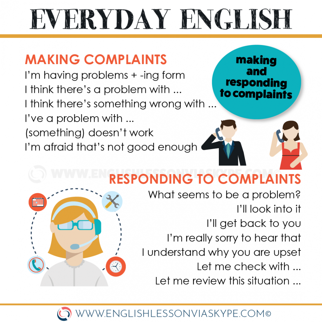 Making complaints in English. How to make a complaint. Useful phrases at www.englishlessonviaskype.com #learnenglish #englishlessons #tienganh #EnglishTeacher #vocabulary #ingles #อังกฤษ #английский #aprenderingles #english #cursodeingles #учианглийский #vocabulário #dicasdeingles #learningenglish #ingilizce #englishgrammar #englishvocabulary #ielts #idiomas