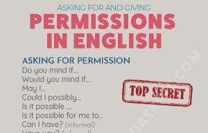Asking for and Giving Permission in English