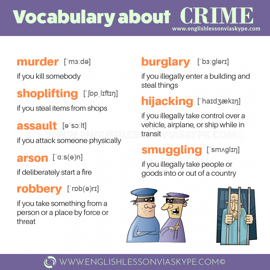 Learning English vocabulary crime and punishment. IELTS crime and punishment vocabulary. Intermediate level English lessons. #learnenglish #englishlessons #vocabulary #ielts #toefl #vocabulary #ingles #aprenderingles