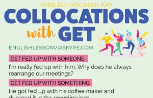 English Expressions with GET