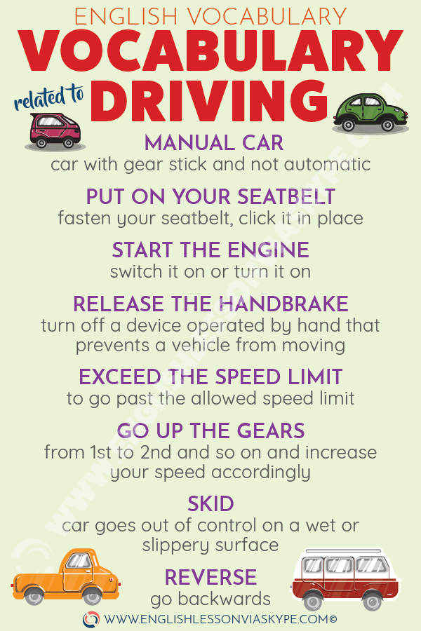 Learn English vocabulary related to driving. English Idioms about driving. Intermediate level English. #learnenglish #englishlessons #englishteacher #aprenderingles #ingles #อังกฤษ #английский #英语 #영어