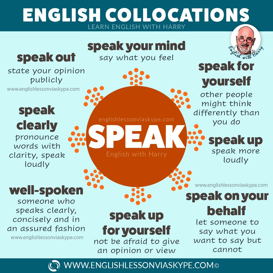 14 English expressions with Speak and Speech. Useful English collocations. Improve your English vocabulary. #learnenglish #englishlessons #englishteacher #ingles #aprenderingles #idioms #vocabulary #studyenglish #englishlearning #английский #ingilizce
