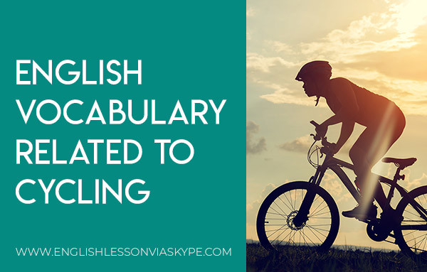 English vocabulary for cycling. Bicycle parts vocabulary in English. English idioms related to cycling. Intermediate level English. #learnenglish #englishlessons #esl #englishteacher #vocabulary #ingles #อังกฤษ #английский #英语 #영어