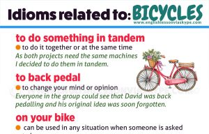 Useful English cycling vocabulary. Intermediate level English lessons. Improve English speaking skills. English lessons on Skype. #learnenglish