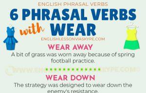 Advanced English lessons. 6 Phrasal verbs with Wear. Phrasal verbs for FCE. Learn English with Harry at www.englishlessonviaskype.com #learnenglish #englishlessons #tienganh #EnglishTeacher #vocabulary #ingles #อังกฤษ #английский #aprenderingles #english #cursodeingles #учианглийский #vocabulário #dicasdeingles #learningenglish #ingilizce #englishgrammar #englishvocabulary #ielts #idiomas