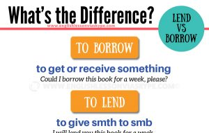 Difference between Lend and Borrow