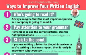 11 Simple Ways to Improve Your Written English