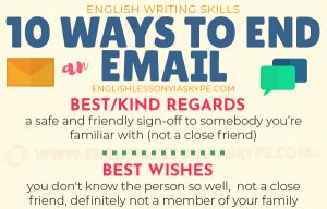 10 Ways to Finish an Email in English