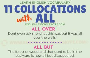 11 English Collocations with All