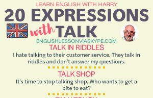 20 English Expressions and Idioms with Talk