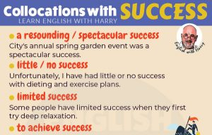 English Collocations with Success