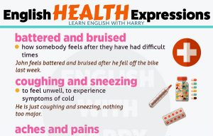 Fixed English Expressions about Health