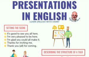 Presentations in English