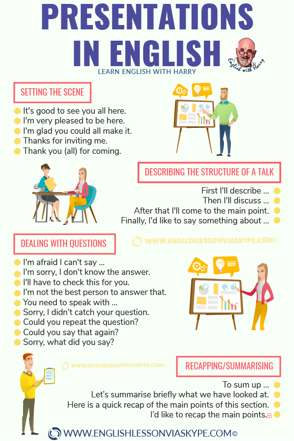 How to make presentations in English. Useful phrases. Improve business English with Harry at www.englishlessonviaskype.com #learnenglish #englishlessons #tienganh #EnglishTeacher #vocabulary #ingles #อังกฤษ #английский #aprenderingles #english #cursodeingles #учианглийский #vocabulário #dicasdeingles #learningenglish #ingilizce #englishgrammar #englishvocabulary #ielts #idiomas