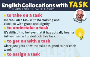 15 English Collocations with Task