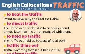 15 English Collocations connected to Traffic