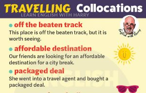 English Travelling Collocations