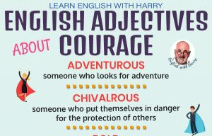 10 English adjectives to describe courage. Improve English from intermediate to advanced level at www.englishlessonviaskype.com #learnenglish #englishlessons #EnglishTeacher #vocabulary #ingles #английский #aprenderingles #english #cursodeingles #учианглийский #vocabulário #dicasdeingles #learningenglish #ingilizce #englishgrammar #englishvocabulary #ielts #idiomas