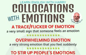 English Collocations with Emotions