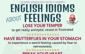 Idioms related to Feelings and Emotions