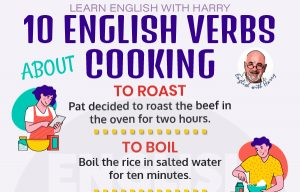 English Verbs about Cooking