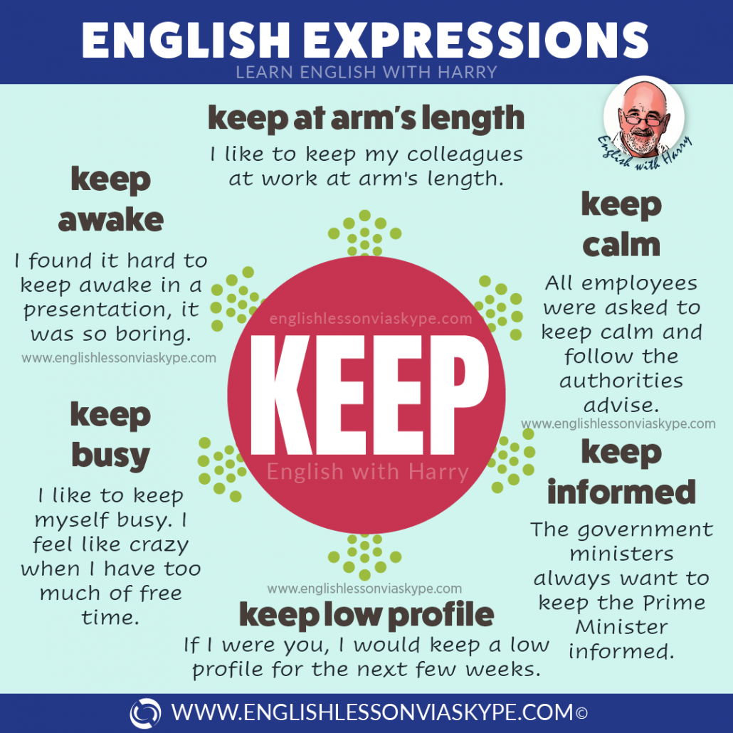 English vocabulary: 10 English expressions with keep. From intermediate to advanced English with www.englishlessonviaskype.com #learnenglish #englishlessons #EnglishTeacher #vocabulary #ingles #อังกฤษ #английский #aprenderingles #english #cursodeingles #учианглийский #vocabulário #dicasdeingles #learningenglish #ingilizce #englishgrammar #englishvocabulary #ielts #idiomas