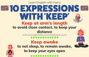 10 English Expressions With Keep