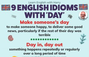 10 English Idioms with Day