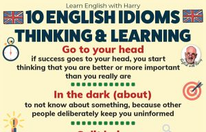 10 Idioms about Thinking and Learning