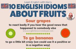 Common Idioms about Fruits in English
