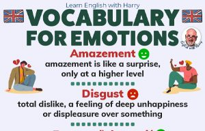 English Vocabulary For Emotions