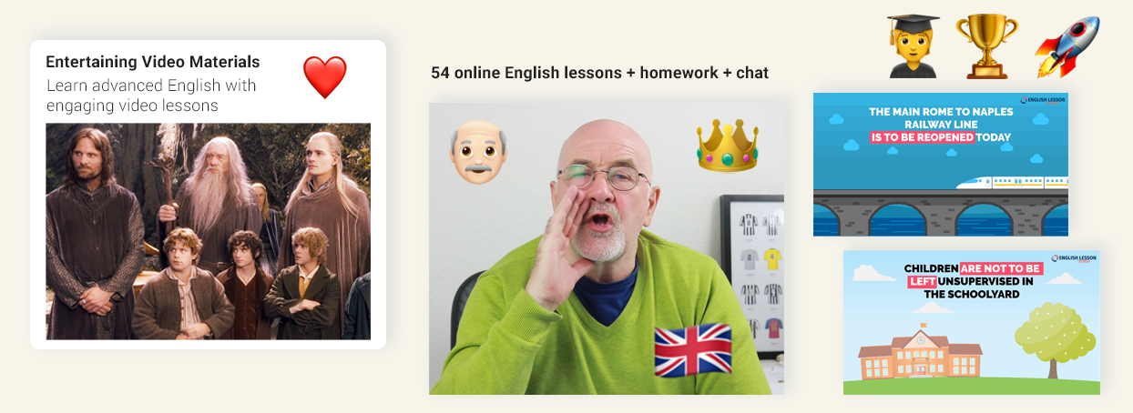 Online English lessons via Skype or Zoom. Advanced English Learning Couse. Easy Peasy English Club. Improve English from intermediate to advanced www.englishlessonviaskype.com #learnenglish