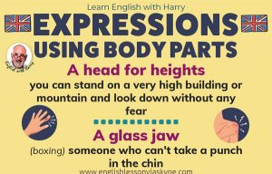 Unusual English Expressions Using Body Parts