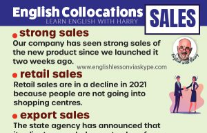 Read more about the article 13 English Collocations With Sales