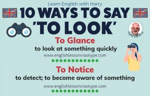 10 Ways of Looking in English