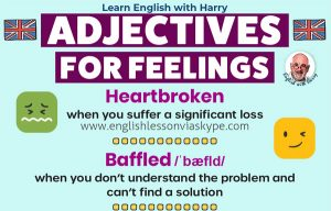 Learn useful adjectives to describe your feelings in English. Advanced English lessons on Zoom and Skype at www.englishlessonviaskype.com #learnenglish #englishlessons #EnglishTeacher #vocabulary #ingles #อังกฤษ #английский #aprenderingles #english #cursodeingles #учианглийский #vocabulário #dicasdeingles #learningenglish #ingilizce #englishgrammar #englishvocabulary