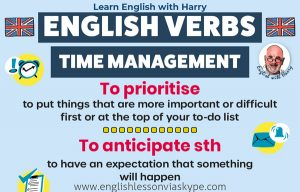 Read more about the article 10 English Verbs Related To Time Management