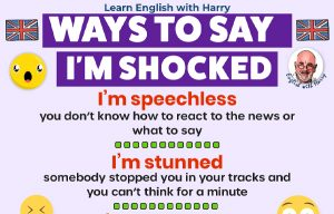 Read more about the article Ways To Say I'm Shocked In English