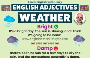 Read more about the article Advanced Adjectives For Describing The Weather