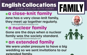 Read more about the article 10 English Collocations With Family
