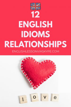 12 English idioms about relationships. Get off on the wrong foot, hit it off meaning, on the rocks www.englishlessonviaskype.com #learnenglish #englishlessons #английский #angielski #nauka #ingles #Idiomas #idioms #English #englishteacher #ielts #toefl #vocabulary #ingilizce #inglese #ielts