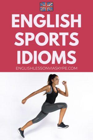 English sports idioms